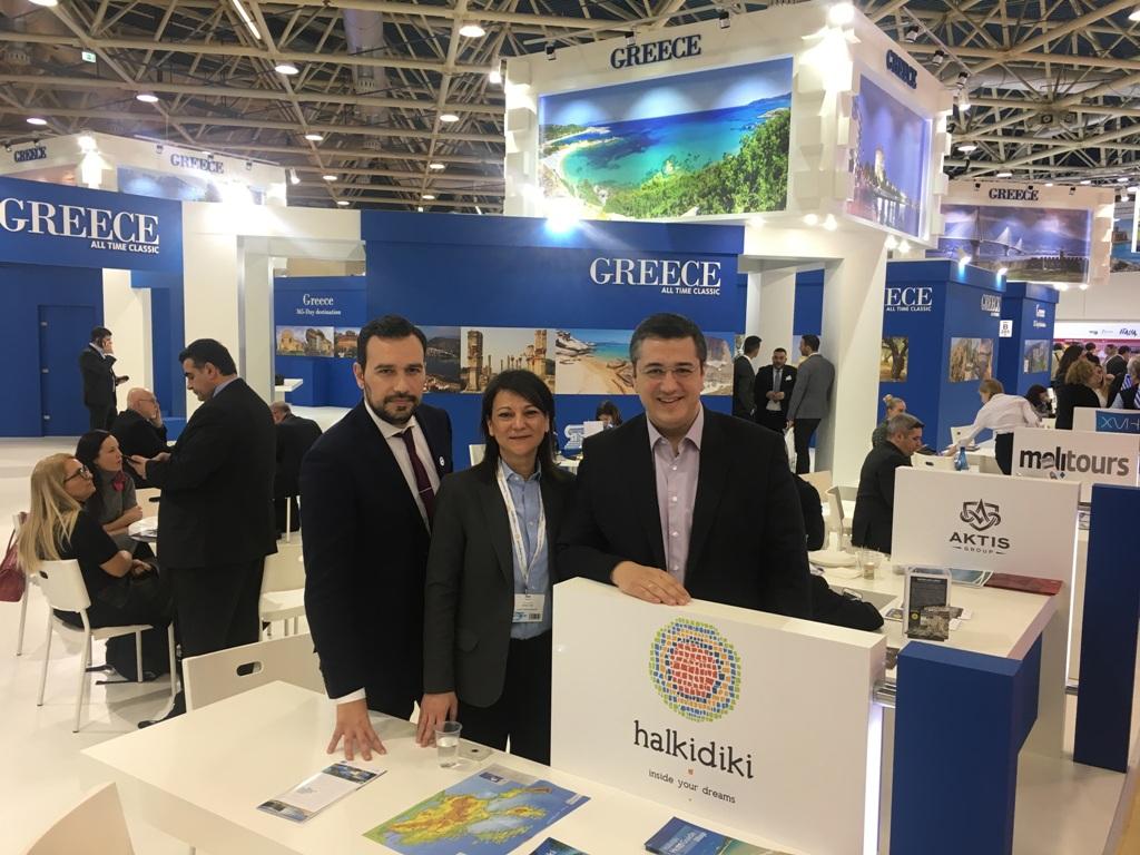 ΜΙΤΤ 2018: Θετικό το πρόσημο των κρατήσεων για τη Χαλκιδική