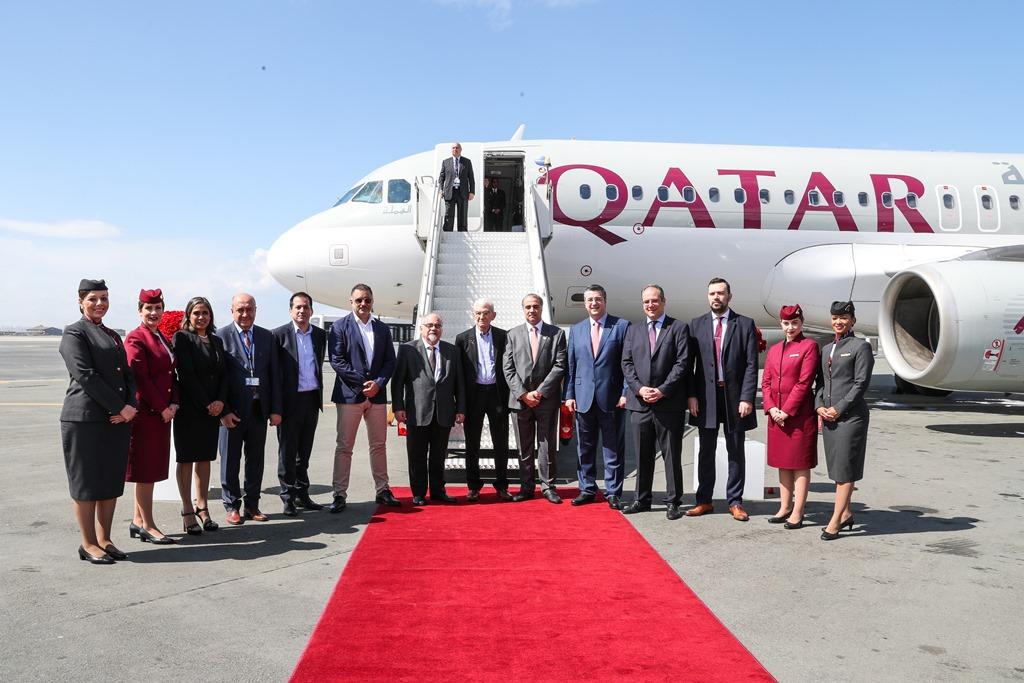 Η Qatar Airways προσγειώθηκε για πρώτη φορά στη Θεσσαλονίκη