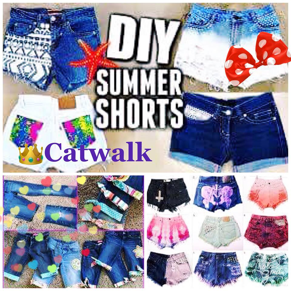 Catwalk : Φτιάξτε τα ωραιότερα DIY Summer Shorts!