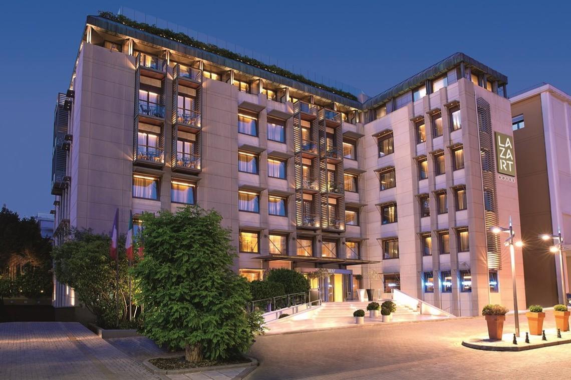 Το Lazart Hotel στην Εθνική Πανγαία ΑΕΕΑΠ