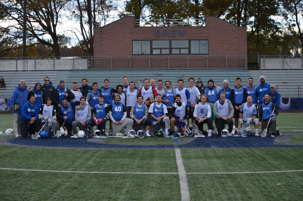 Η Εθνική Ομάδα Lacrosse Ανδρών για προετοιμασία στο Κολλέγιο Ανατόλια