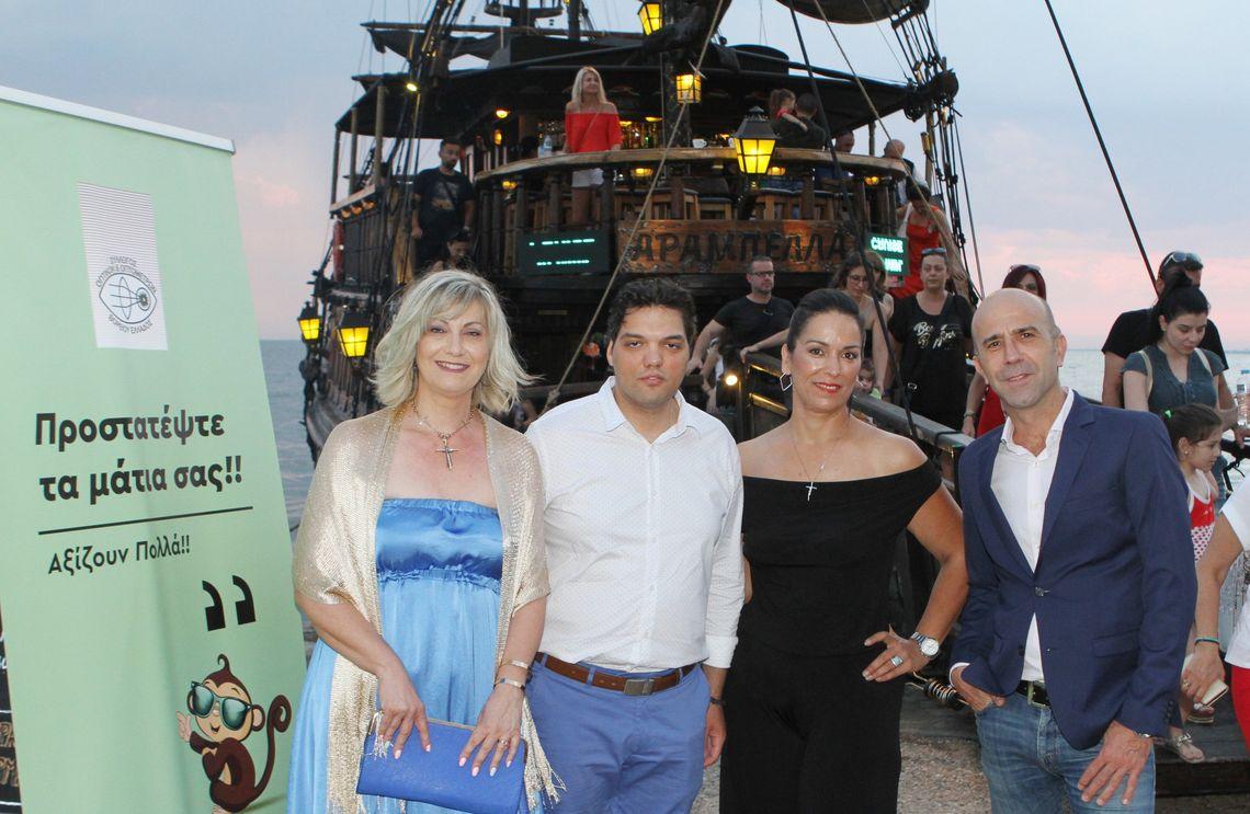 «The Cruise Party» του Συλλόγου Οπτικών Οπτομετρών Β.Ελλάδος