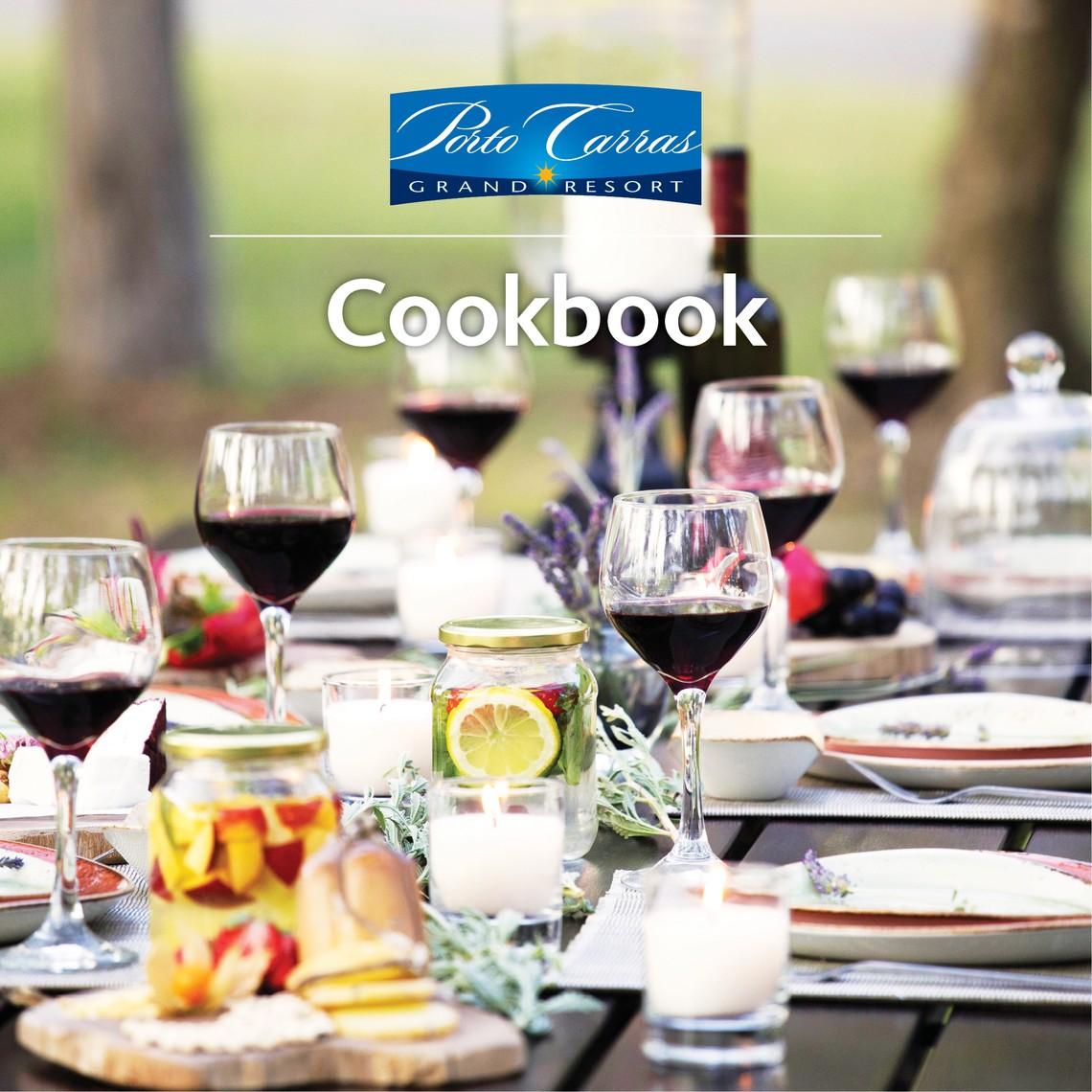 Γεύση από Ελλάδα στο Porto Carras Cookbook