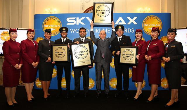 Η Qatar Airways κερδίζει τέσσερα κορυφαία βραβεία στα Skytrax World Airline Awards