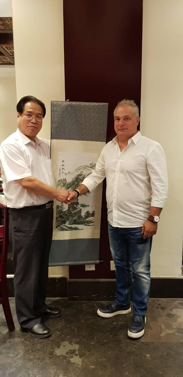 Αντιπροσωπεία του Δήμου Βέροιας στο Πεκίνο