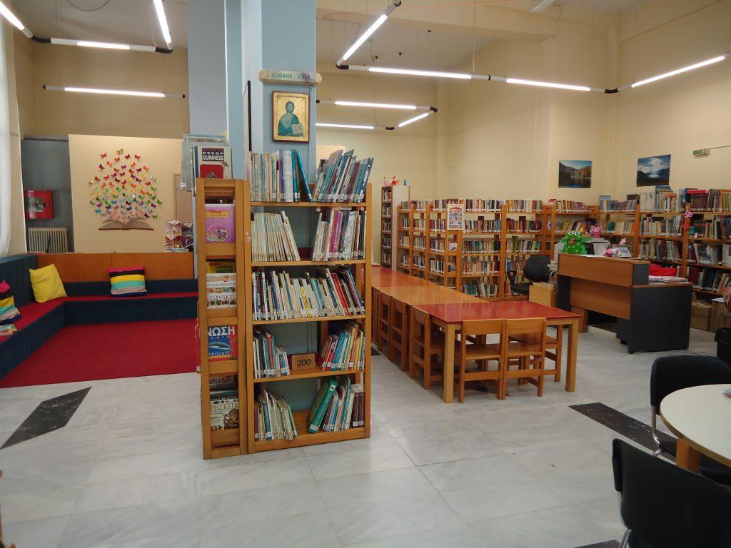 Οκτώβριος στην Παιδική Βιβλιοθήκη Δελφών