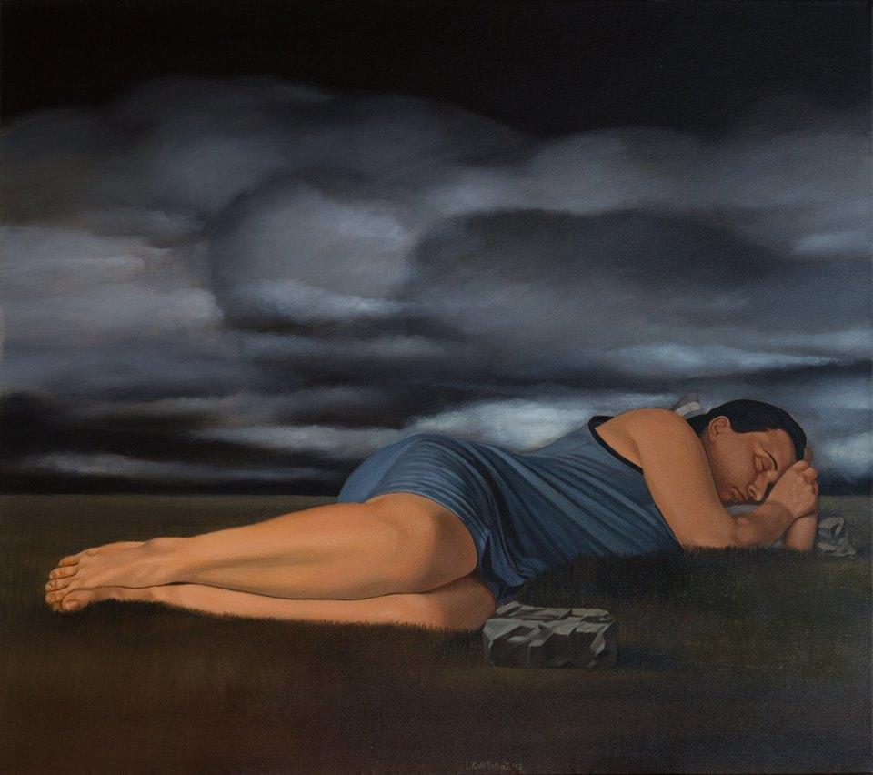 """Έκθεση ζωγραφικής του Γιάννη Κοντοβού, """"Melancholia"""" στη Chalkos Gallery"""