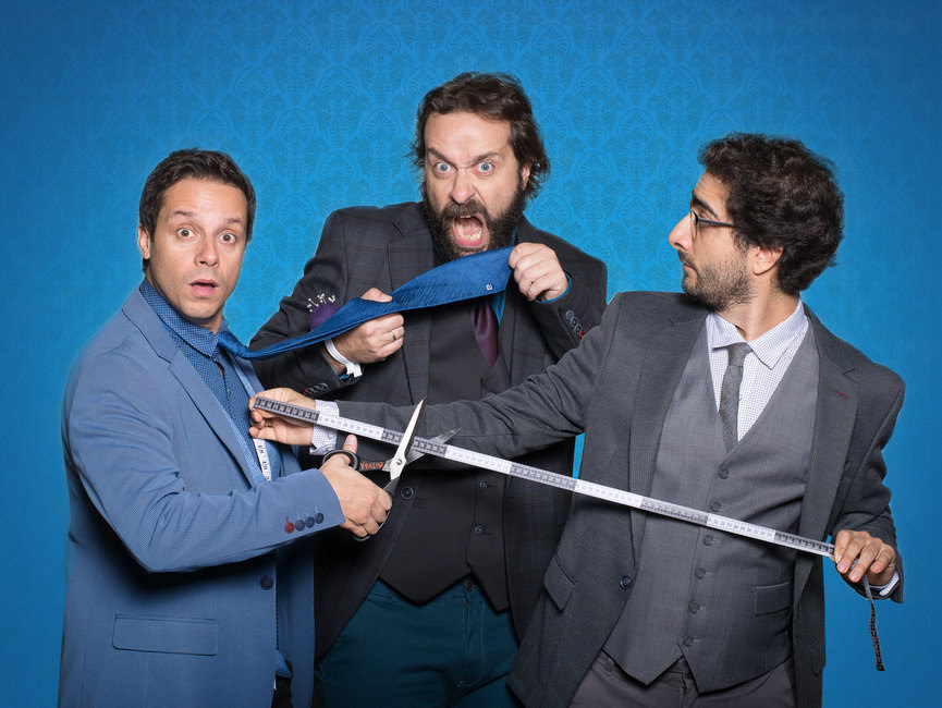 Tailor Made Comedy: Μια αυτοσχεδιαστική παράσταση όπου το κοινό έχει τον έλεγχο