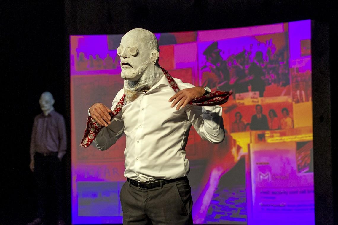 """The factory"" Omar Abusaada – Mohammad Al Attar στο Θέατρο στη Στέγη"