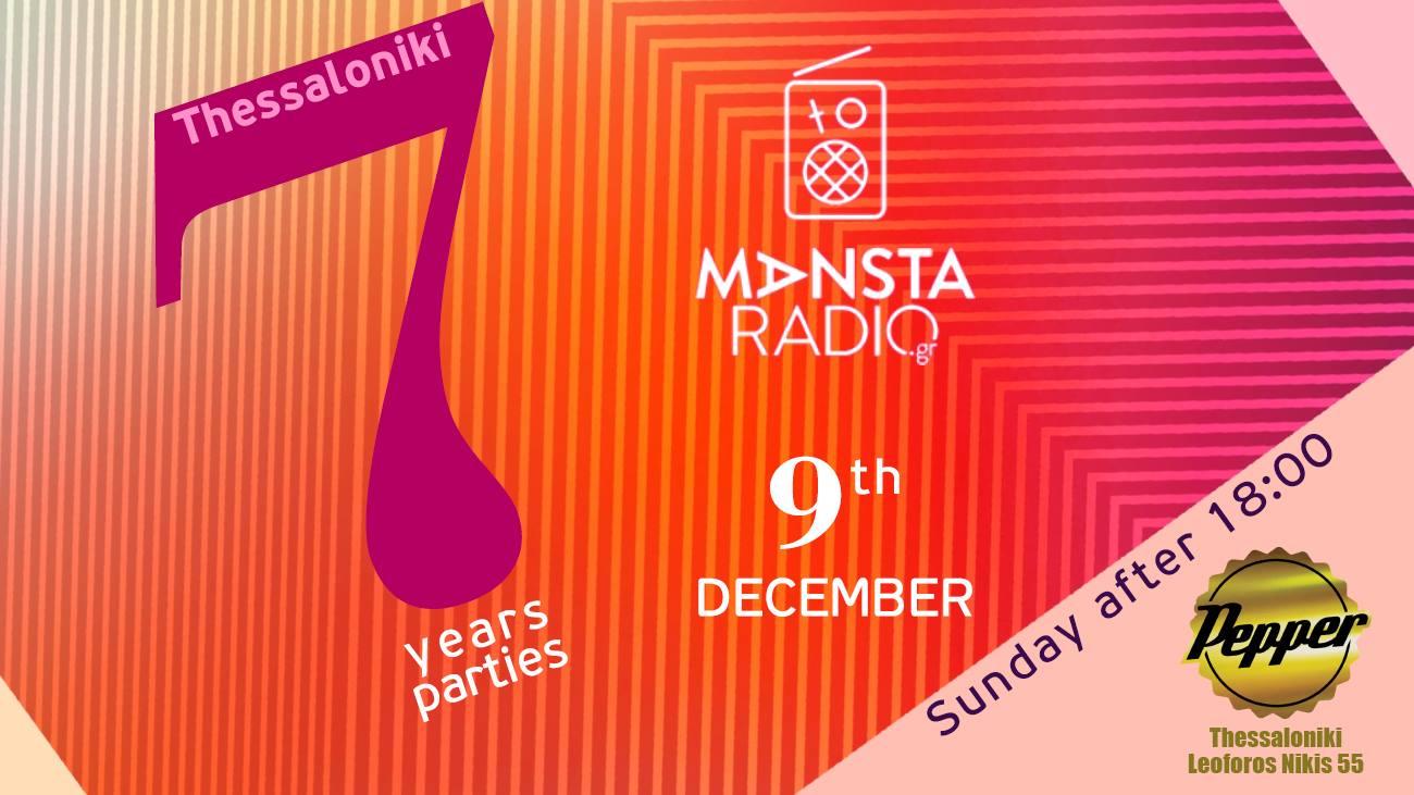 Mansta radio 7 years celebration parties