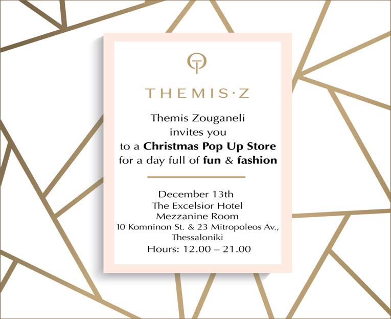 Christmas Pop Up Store by THEMIS Z