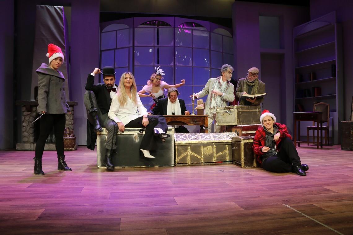 """""""Τα Χριστούγεννα του Σκρουτζ"""" επιστρέφει στο Θέατρο Αλίκη"""