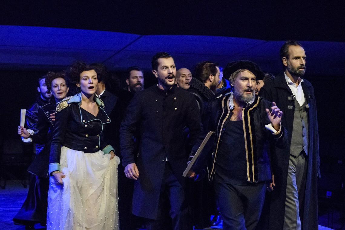 «Τίμων ο Αθηναίος» στο Θέατρο Rex Σκηνή «Μαρίκα Κοτοπούλη»
