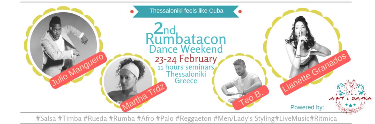 2nd Rumbatacon Dance Weekend!