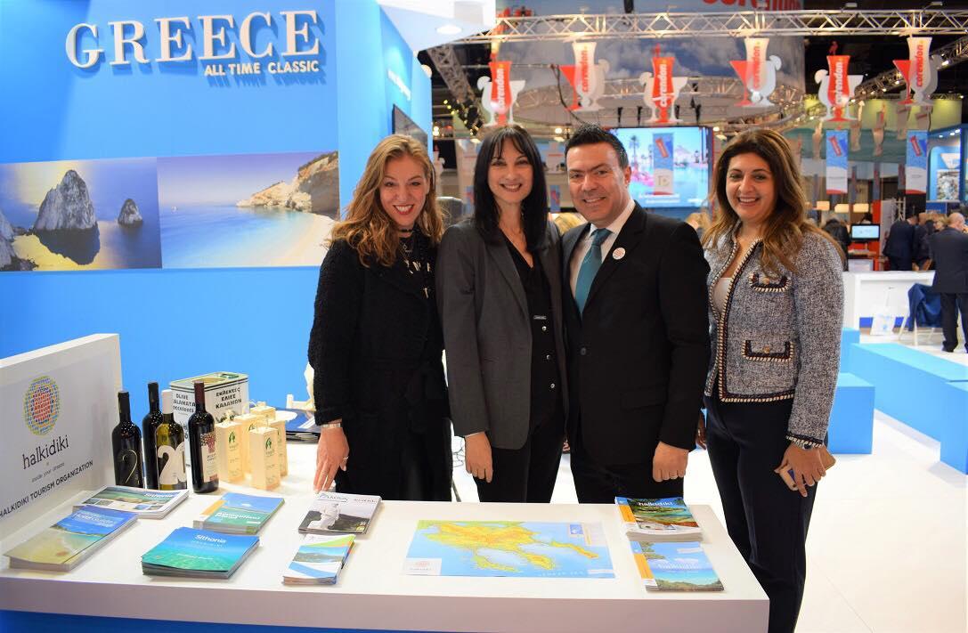 Βέλγιο – Σουηδία – Ισραήλ στόχευσε ο Τουριστικός Οργανισμός Χαλκιδικής
