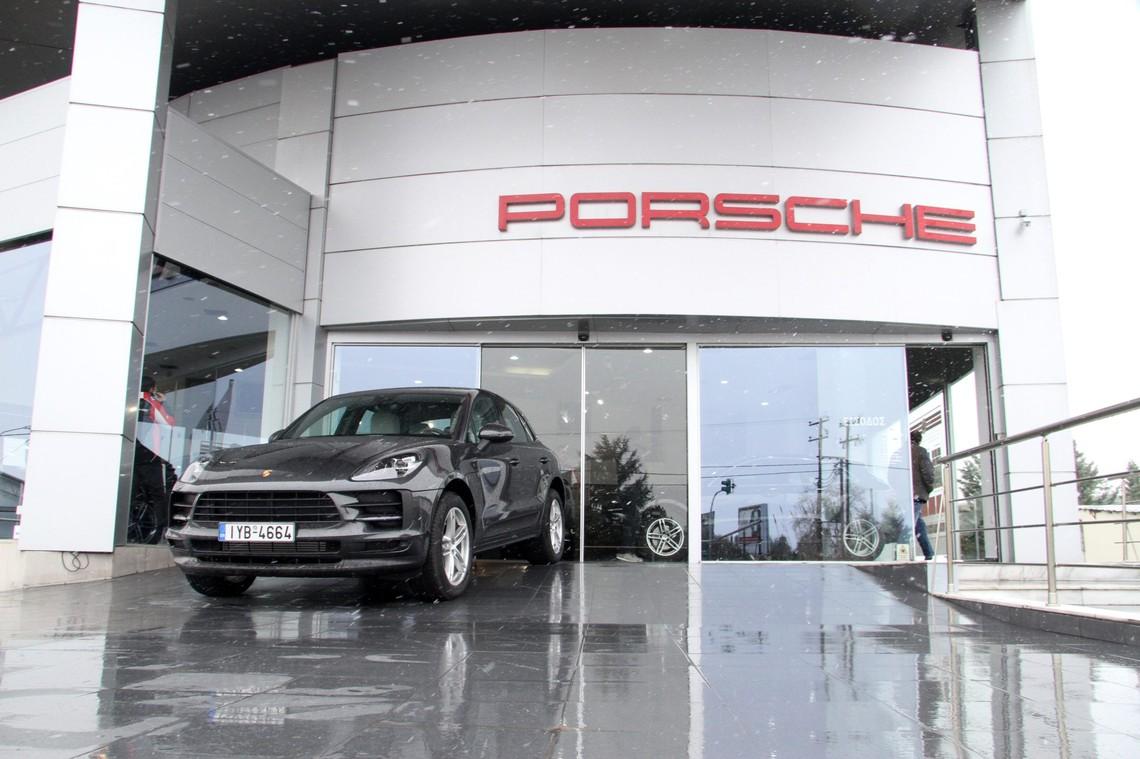 Πρώτη παρουσίαση του νέου μοντέλου Macan της Porsche