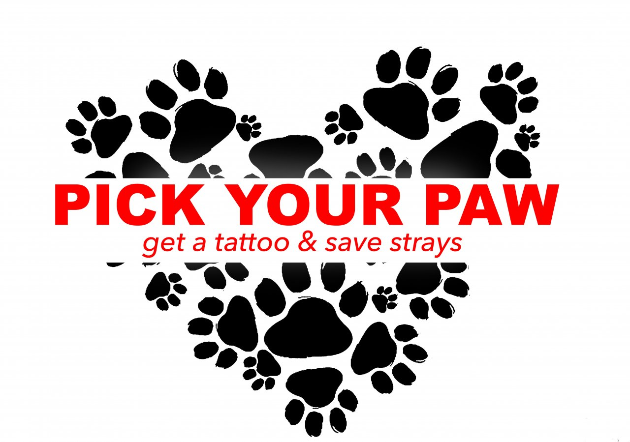 Pick a Paw | Get a Tattoo & Save Strays