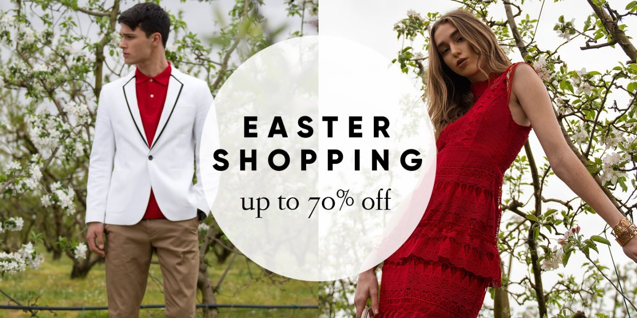 Easter Shopping έως -70% στο One Salonica outlet mall!