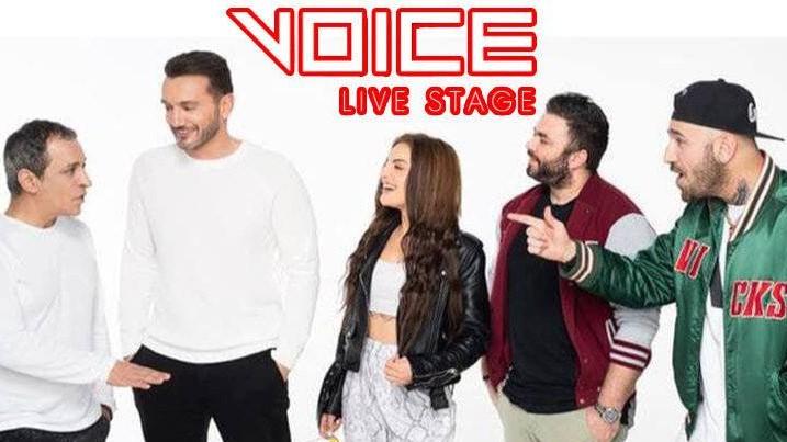 Θέμης Αδαμαντίδης – Χρήστος Μενιδιάτης – Kings στο Voice Live Stage