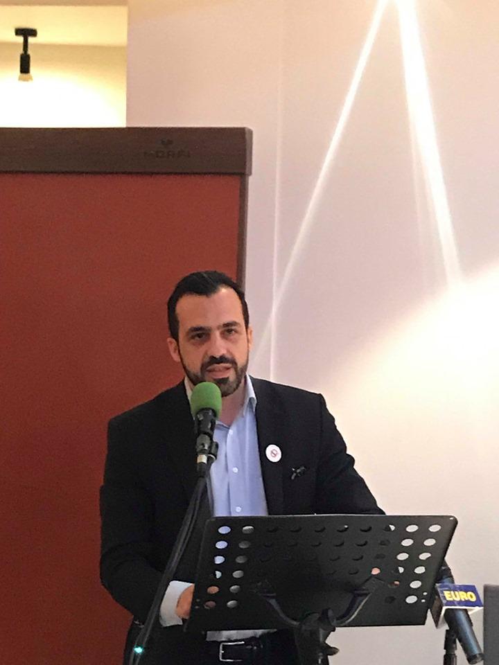 """Μάκης Κυριζίδης: """"Επιχειρηματικότητα νέων και δήμος Θεσσαλονίκης"""""""
