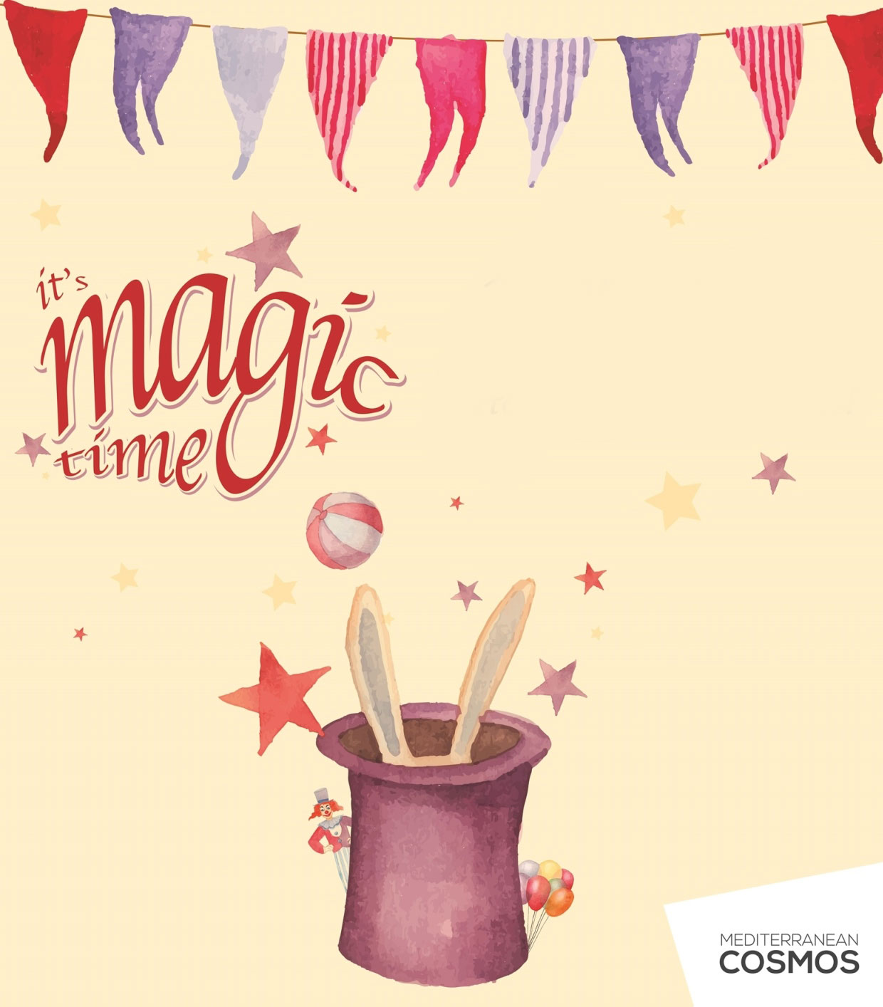 It's magic time @ Mediterranean Cosmos!