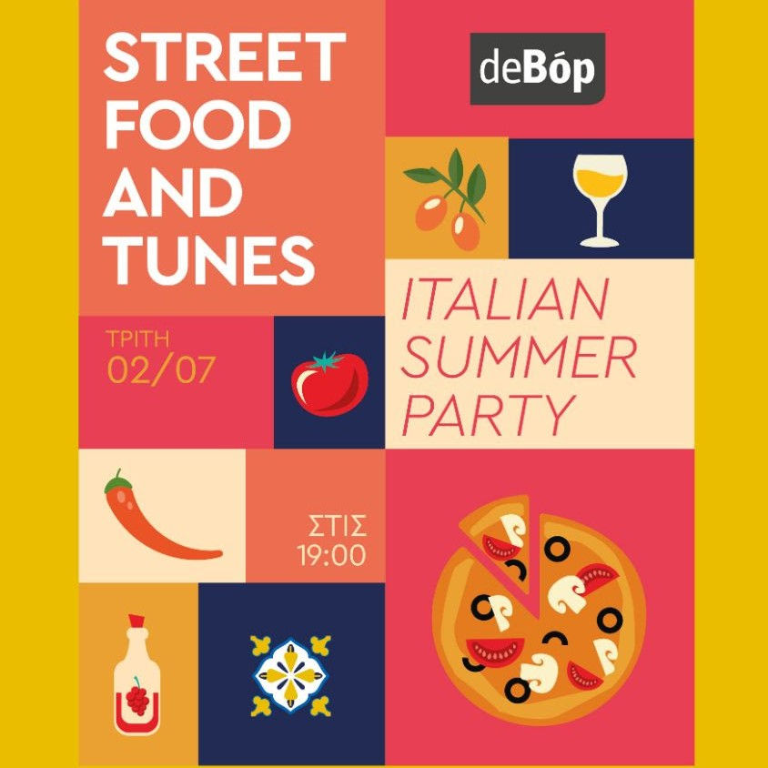 Street Food and Tunes present The Italian Summer Party