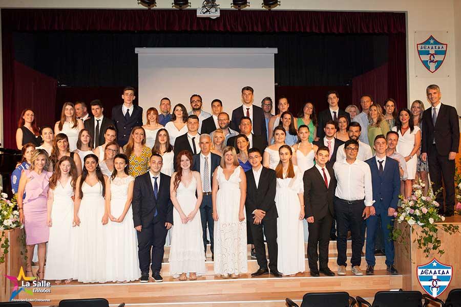 Τελετή Αποφοίτησης της Γ΄ Λυκείου του Κολεγίου «ΔΕΛΑΣΑΛ»
