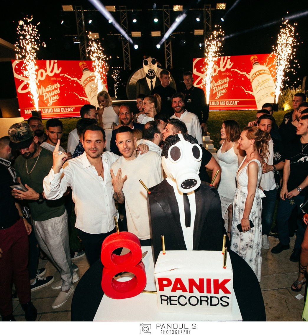 The ultimate Panik birthday party