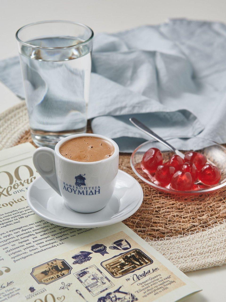 Καφεκοπτεία Λουμίδη: Ελληνικός καφές και γλυκό του κουταλιού, οι πιο τρυφερές μας αναμνήσεις