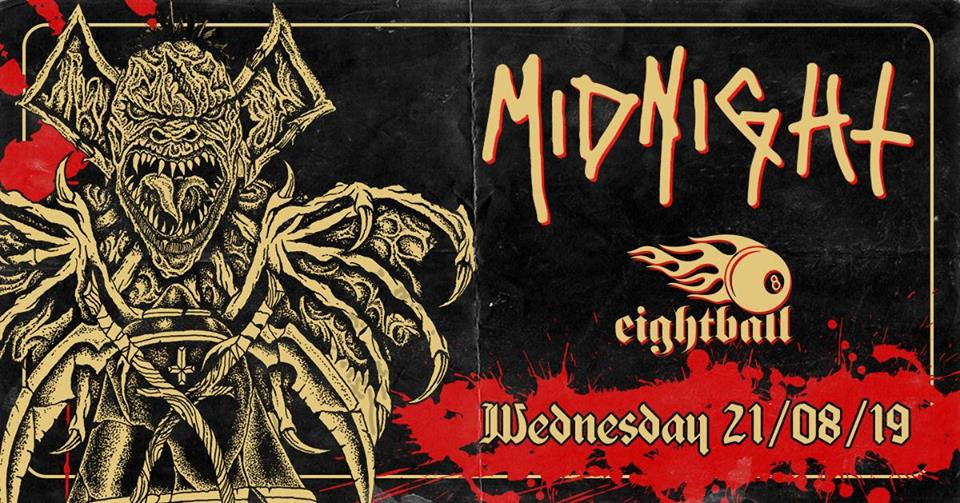 Midnight / Slaughtered Priest live at 8ball