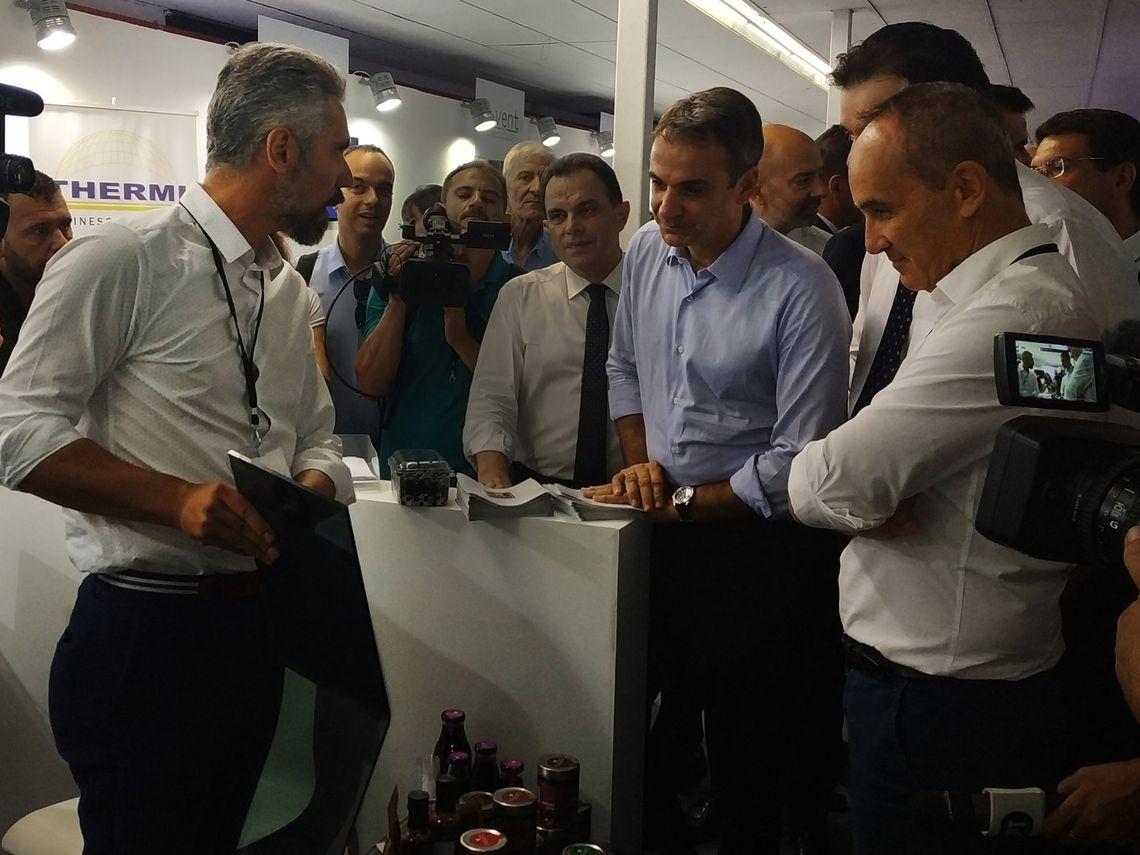 Ο Πρωθυπουργός στο Κέντρο Επιχειρηματικότητας του ACT στη ΔΕΘ