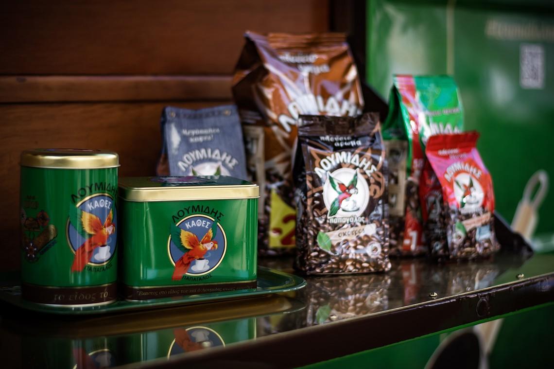 O Λουμίδης Παπαγάλος μας ψήνει καφέ…στο 4ο Coffee Festival!