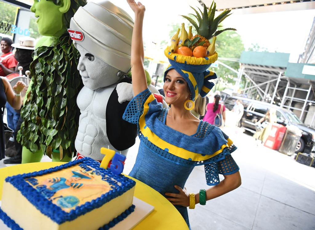 Η Chiquita γιορτάζει την 75η επέτειο της Miss Chiquita