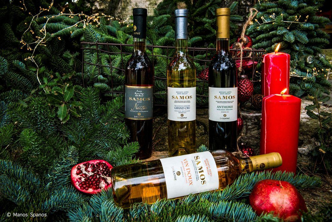 Φέτος τα Χριστούγεννα η Γερμανία «γιορτάζει» με σαμιώτικο κρασί!