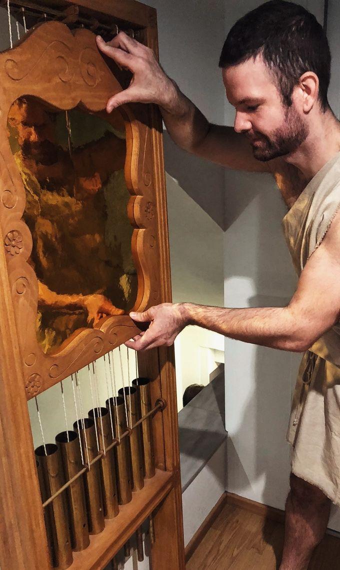 Συναντήστε τον Κτησίβιο στο Μουσείο Κοτσανά Αρχαίας Ελληνικής Τεχνολογίας!