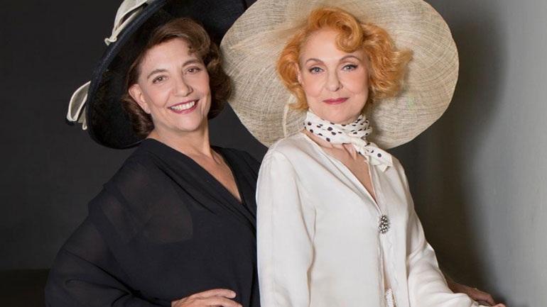 O «Αέρας» με τη Ναταλία Τσαλίκη και την Όλια Λαζαρίδου στο Θέατρο Αμαλία
