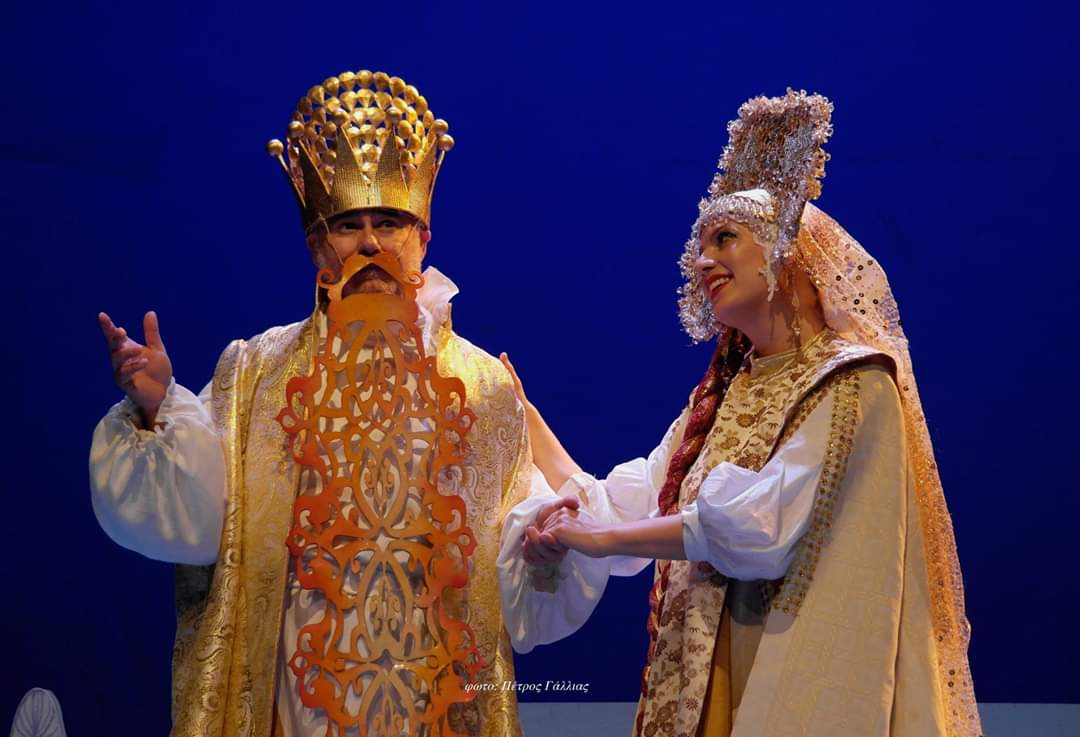 """""""Ο Τσάρος με την μακριά γενειάδα"""" της Κάρμεν Ρουγγέρη στο θέατρο Κιβωτός"""
