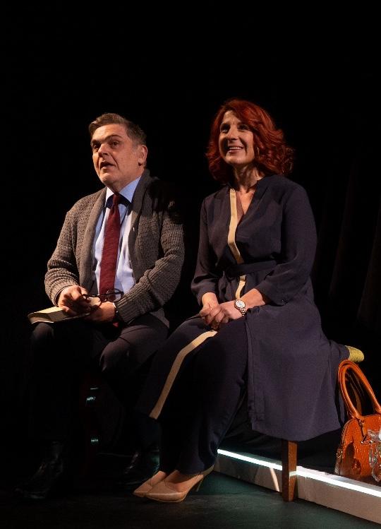 """Οι """"Σκηνές από ένα γάμο"""" επιστρέφουν για δύο παραστάσεις στο Θέατρο Σοφούλη"""