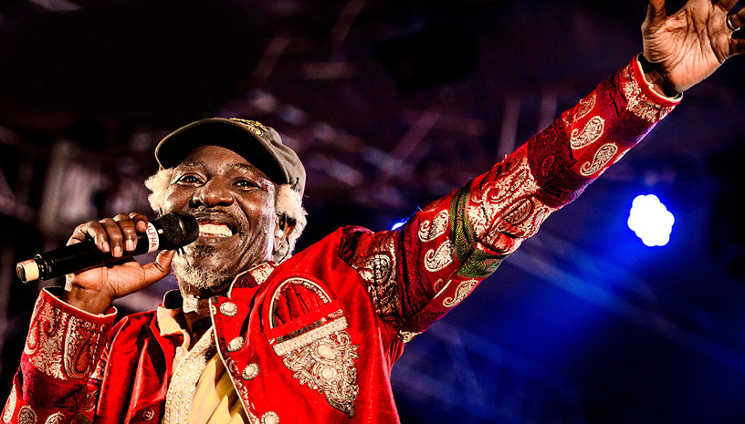 Ο Alpha Blondy στο  Fix Factory Of Sound Open Air