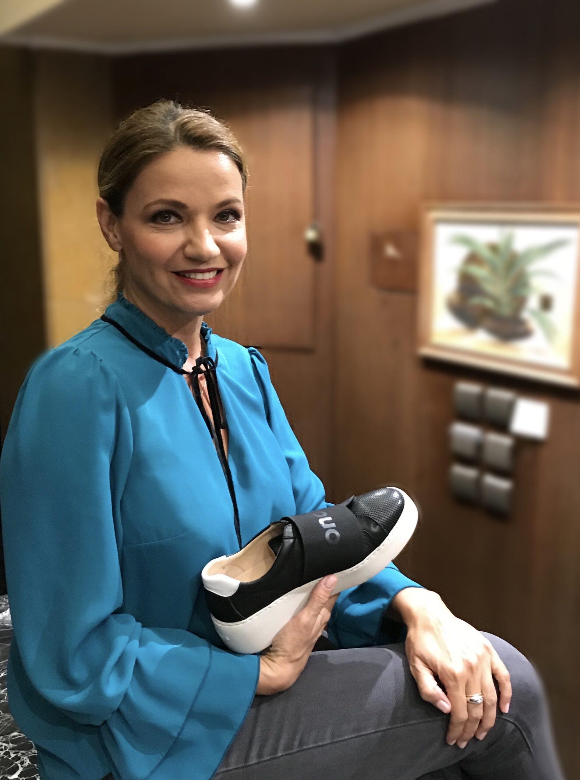 Η Παναγιώτα Βλαντή επιλέγει Wonders Shoes