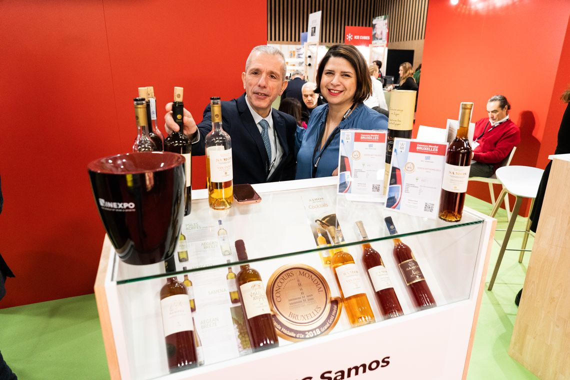 Τα κρασιά του ΕΟΣ Σάμου στην έκθεση Wine Paris 2020