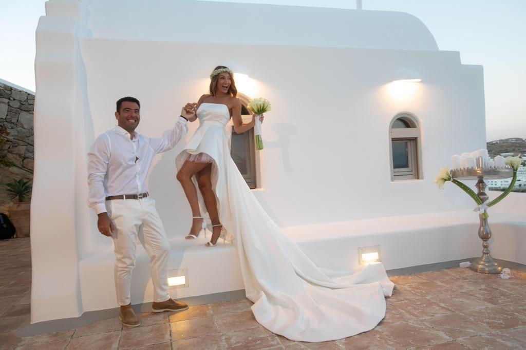 Ο μυθικός γάμος του Αλέξανδρου Αγγλούπα στη Μύκονο
