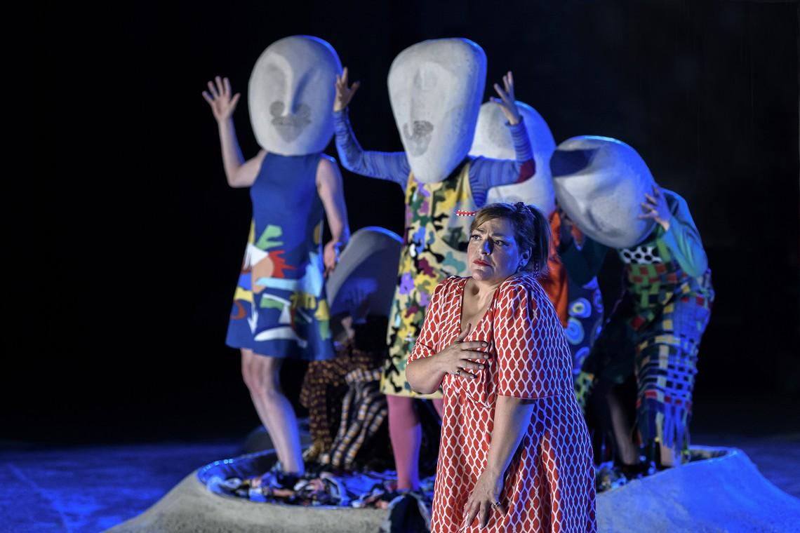 """""""Λυσιστράτη"""" από το Εθνικό Θέατρο στο Αρχαίο Θέατρο της Επιδαύρου"""